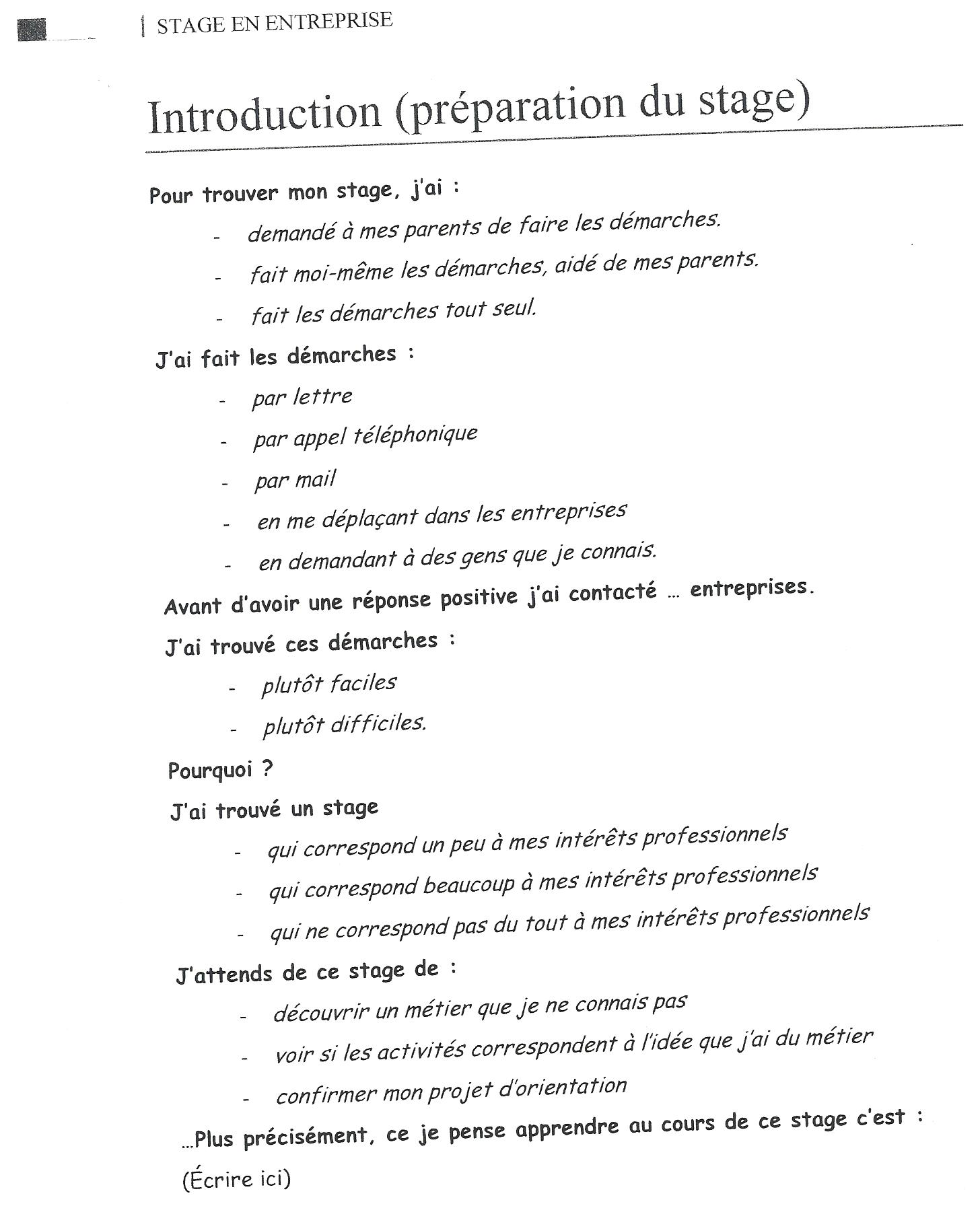 Rapport de stage en cabinet d 39 expertise comptable oboulo - Stage en cabinet d expertise comptable ...